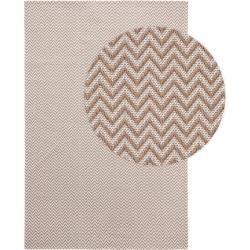 Photo of benuta Naturals – Alfombra de algodón lavable Cooper Taupe 130×190 cm – Alfombra moderna para salón