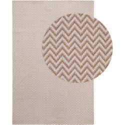 Photo of benuta Washable cotton carpet Cooper Taupe 150×230 cm – Modern carpet for living room benuta