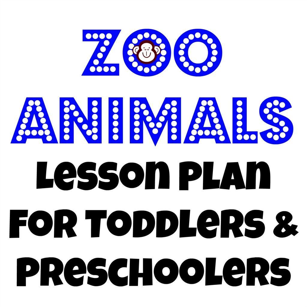 Tot School Zoo Animals
