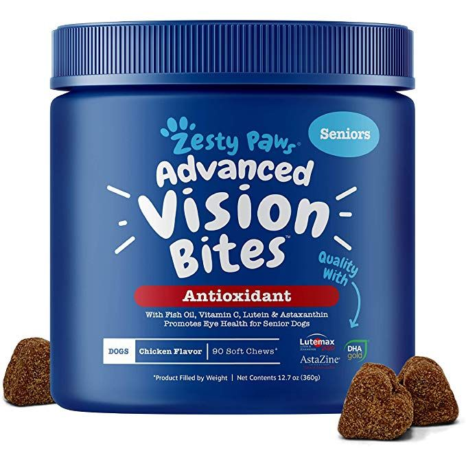 Zesty Paws Eye Supplement for Dogs Vision Support with