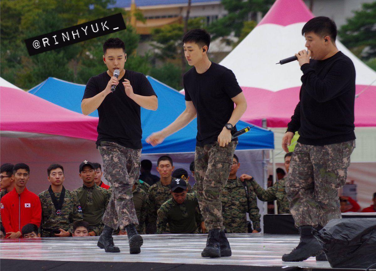 Sungmin, Eunhyuk, Shindong