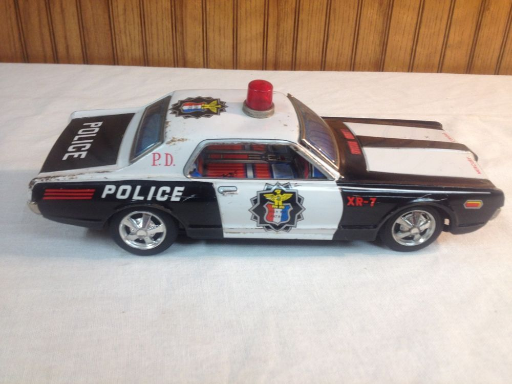 Tin Taiyo Cougar Details Mercury About 1960s Police 7 Vintage Xr Toy FK3Jucl1T5
