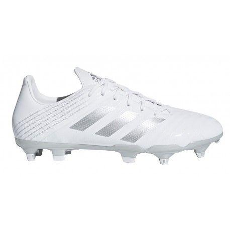 Chaussures Rugby Malice SG Orange Violet adidas