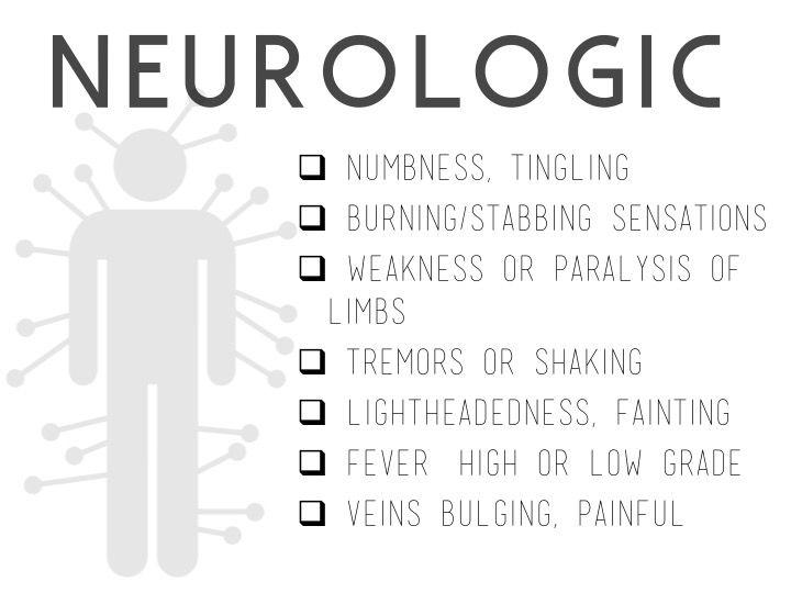 kroniskt trötthetssyndrom symptom