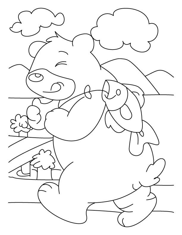 fish disturbing coloring pages free fish disturbing coloring pages