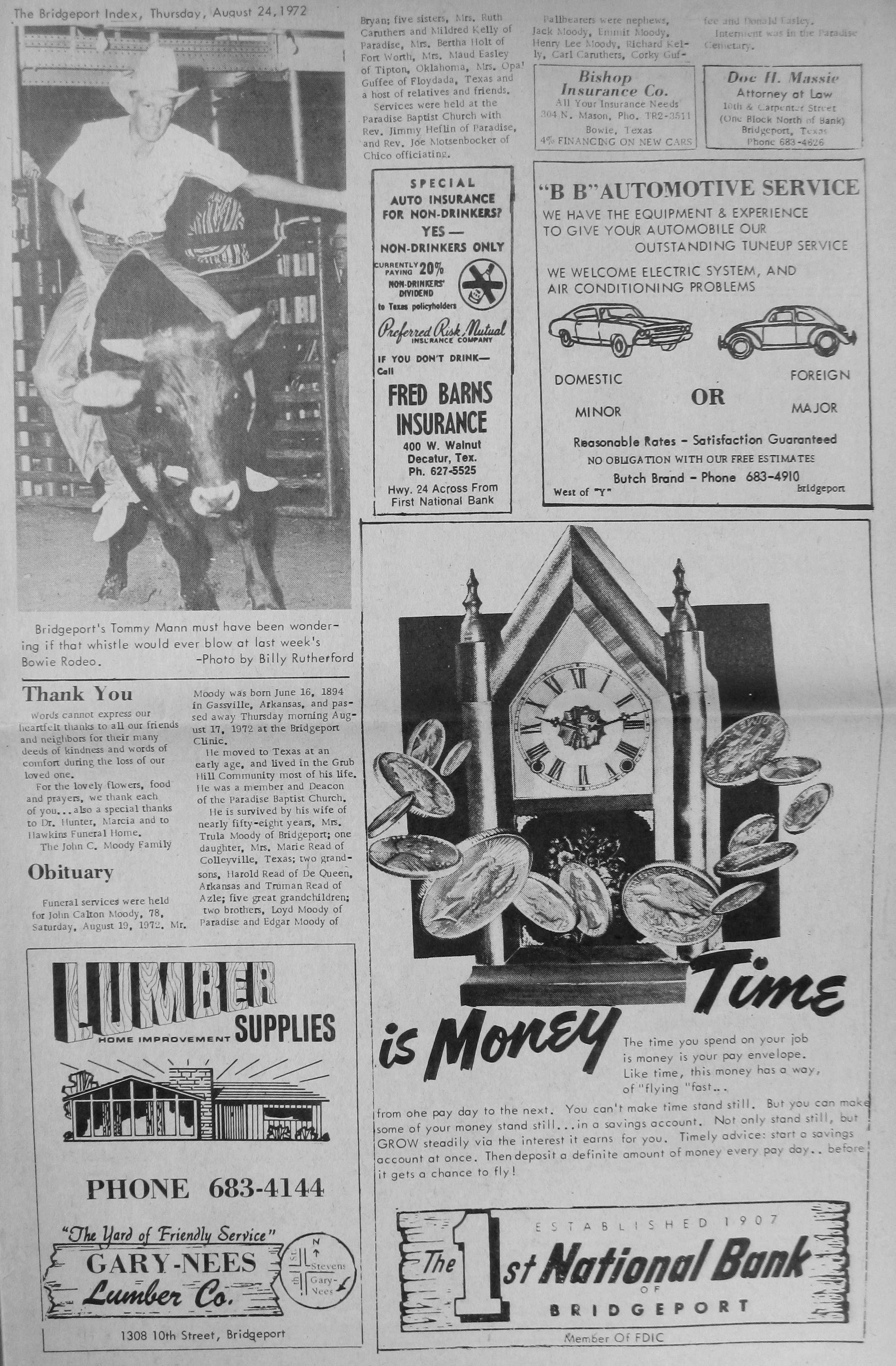 Http Www Wisecountytexas Info Bridgeportindex Images 1972 1972