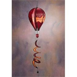 Virginia Tech Hokies Windsock Spinner- Hot Air Balloon Spinner