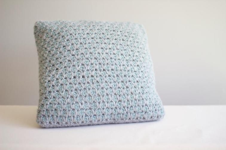 Marrakesh Crocheted Pillow | Craftsy free pattern | Crochet Pillow ...