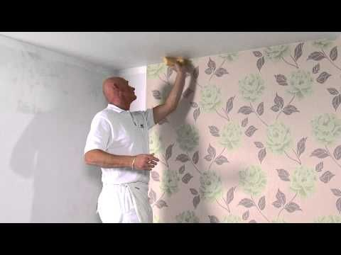 Expert Paper Hanger Jim Tiner Walks You Through The Steps Of Hanging Wallpaper To View The Next V How To Hang Wallpaper How To Install Wallpaper Diy Wallpaper