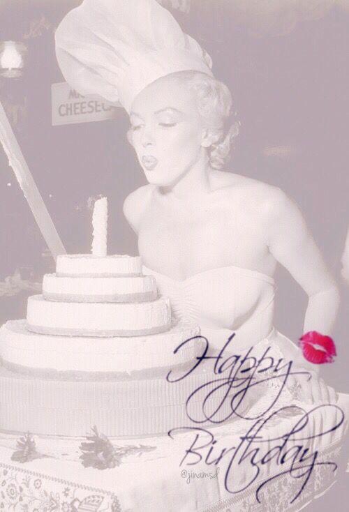 Happy Birthday Marilyn Monroe Birthday Quotes Marilyn Monroe Birthday Birthday Quotes For Her