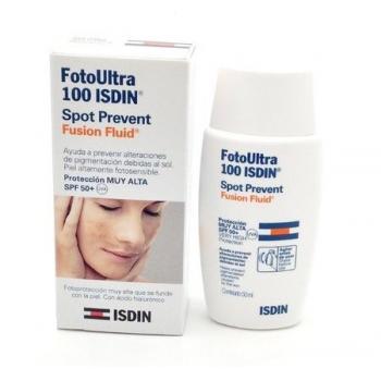 Isdin Fotoultra 100 Spot Prevent Fusion Fluid Spf50 50ml Rutinas De Belleza Consejos De Belleza Cuidado Facial