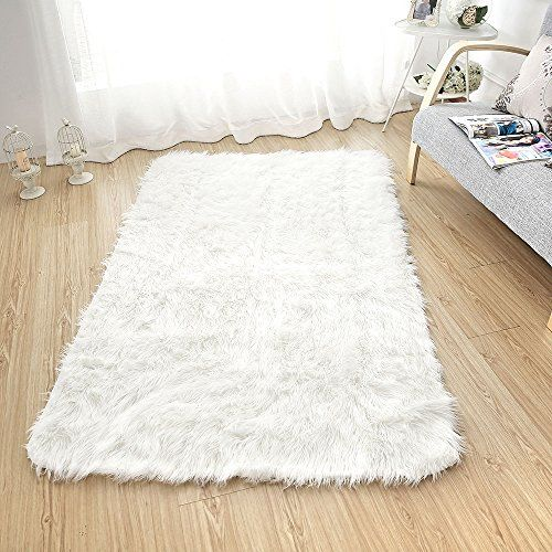 Bathroom Rugs Ideas Sheepskin Area Rug Supersoft Fluffy Rectangle Gy Floor Mat