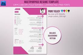Free Template Flat Design Resume  Recherche Google  Job