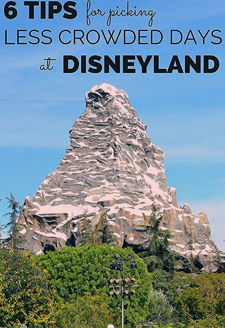 Photo of 6 Tips for Picking Less Crowded Days at Disneyland – Trips With Tykes