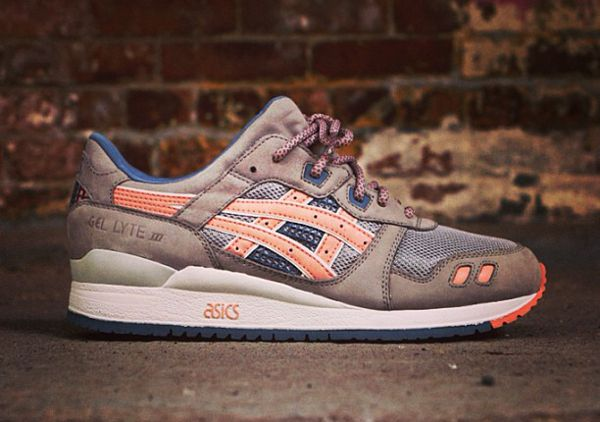 asics gel lyte 3 x ronnie fieg flamingo
