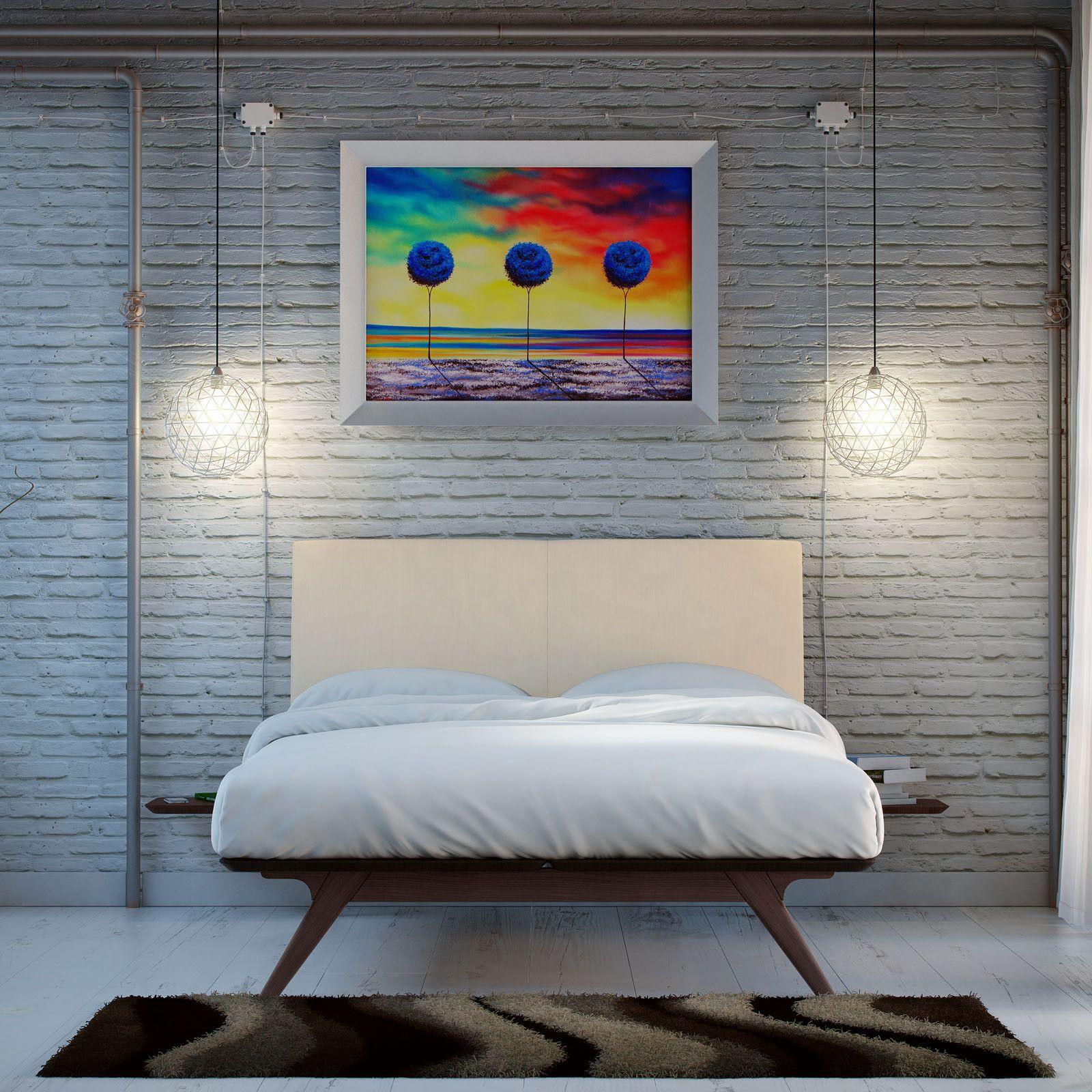 Best Truman Mid Century 3 Piece Queen Bedroom Set Bedroom 640 x 480
