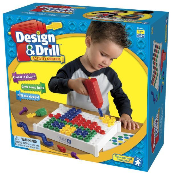 Design Drill Activity Center Educational Insights Activity Centers Kids Drills