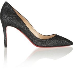 Christian Louboutin The Pigalle 85 glittered pumps on shopstyle.com