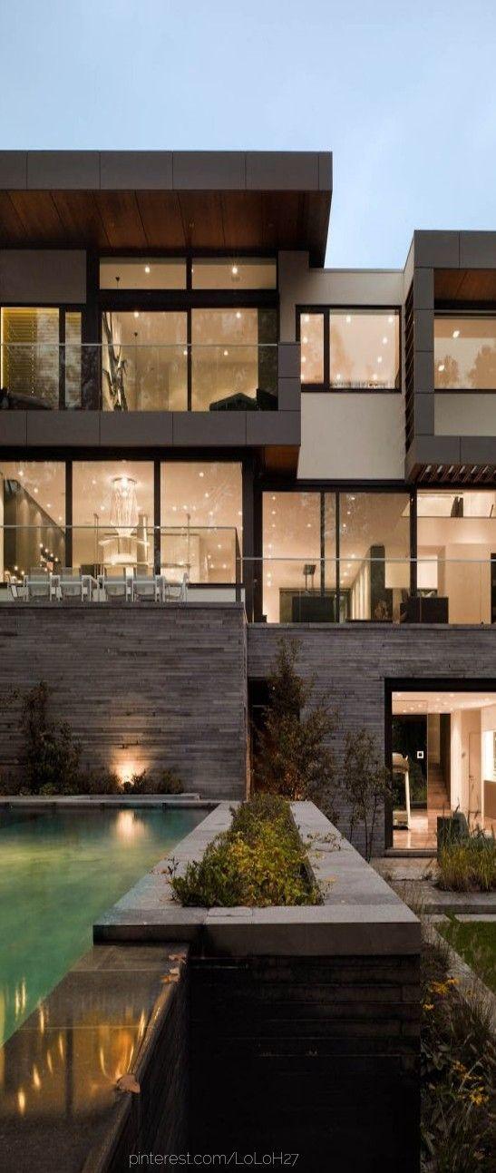 Toronto Residence By Belzberg Architects Luxury House Designs House Architecture Design Architecture