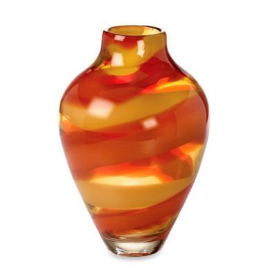 Evolution By Waterford Red Sea 12 Inch Vase Bedbathandbeyond