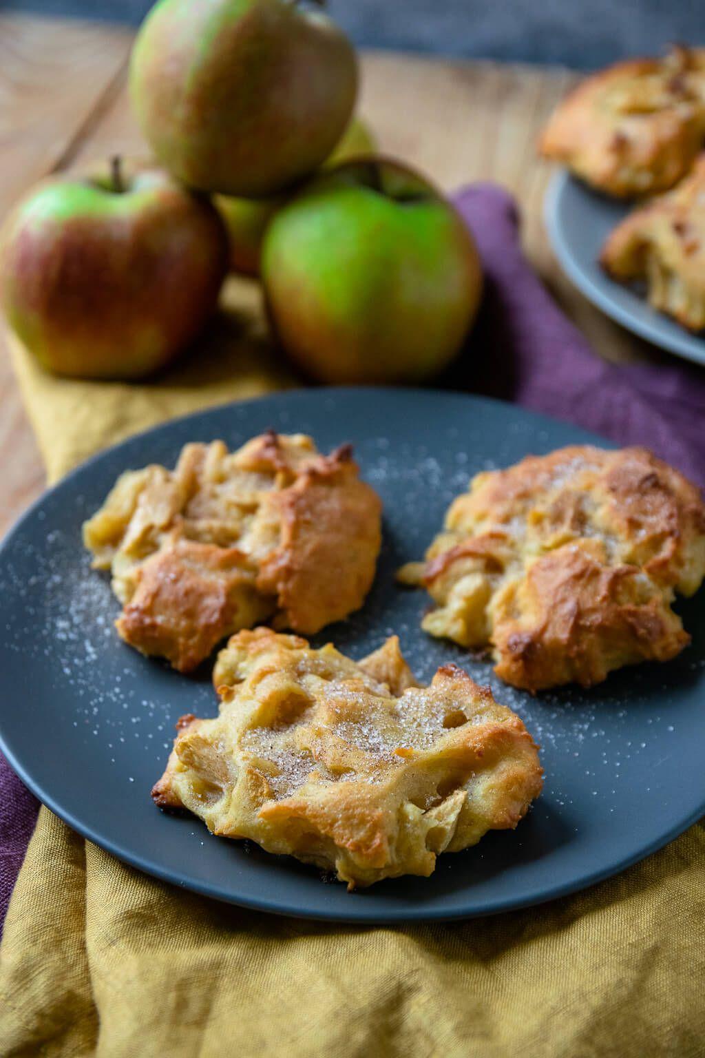 Saftige Apfel Zimt Taler Einfach Malene Rezept Apfel Zimt Kuchen Fingerfood Desserts Lebensmittel Essen