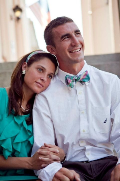 Matching bow tie