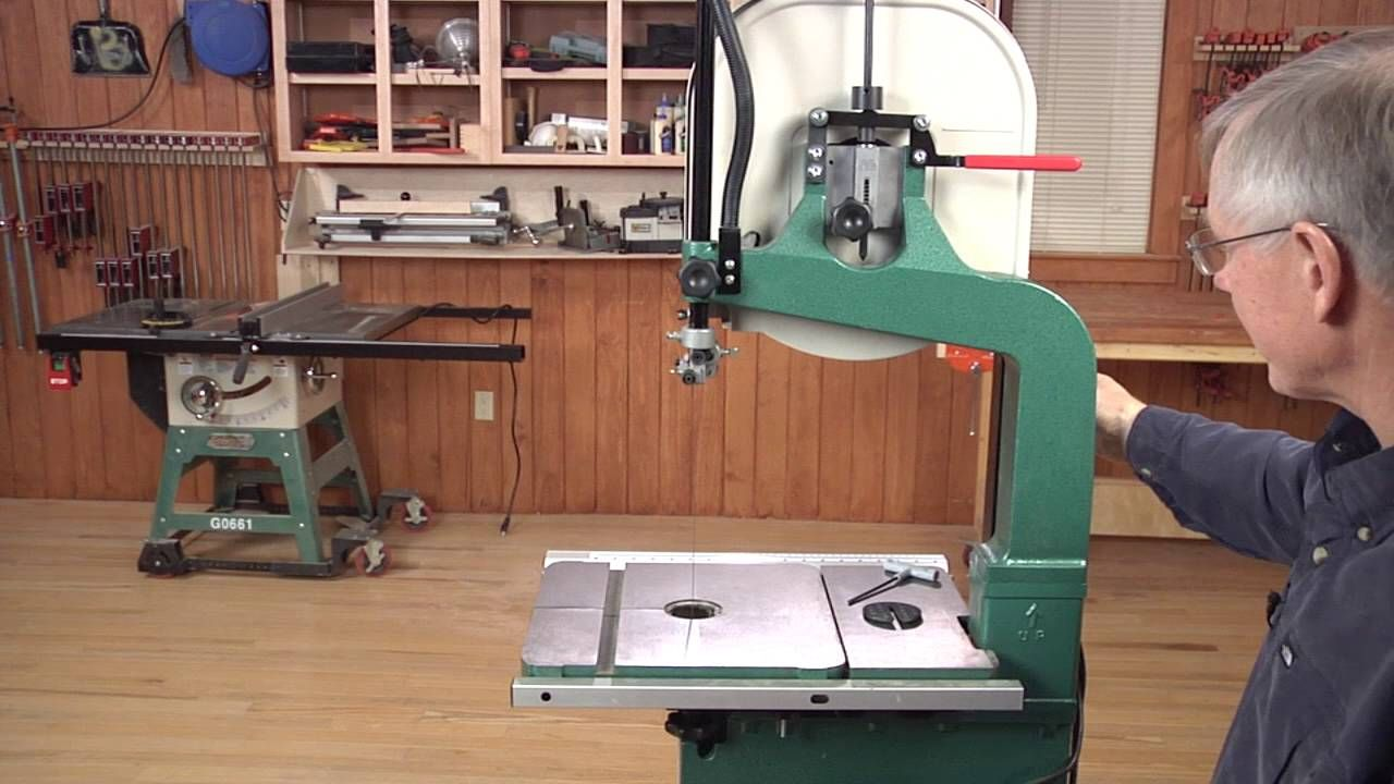 Tension a bandsaw blade the flutter method wood magazine band after installing a bandsaw blade its important to set the blade tension properly built in tension gauges on your saw may be unreliable keyboard keysfo Image collections