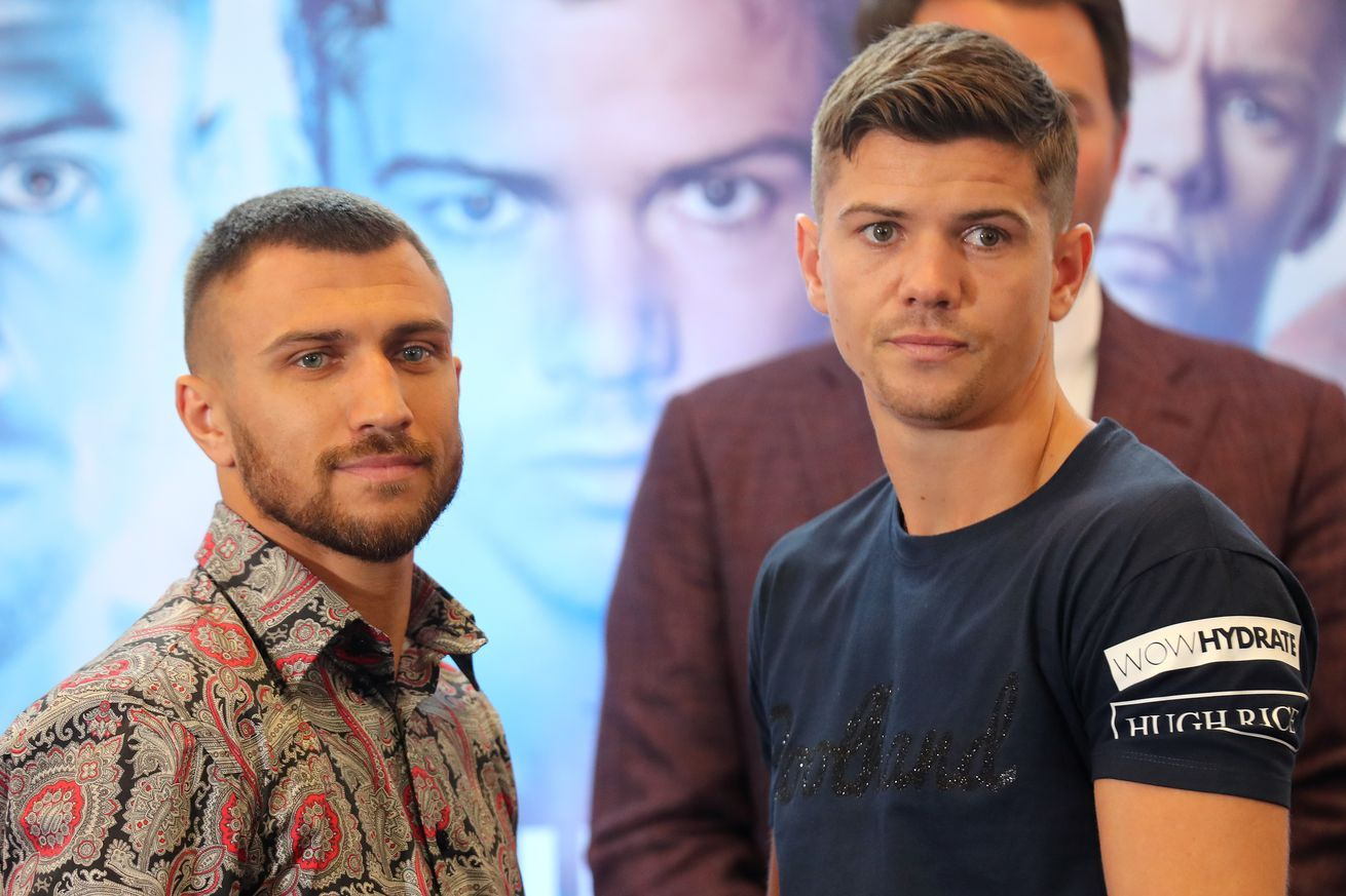LomachenkoCampbell Final Press Conference Boxing news