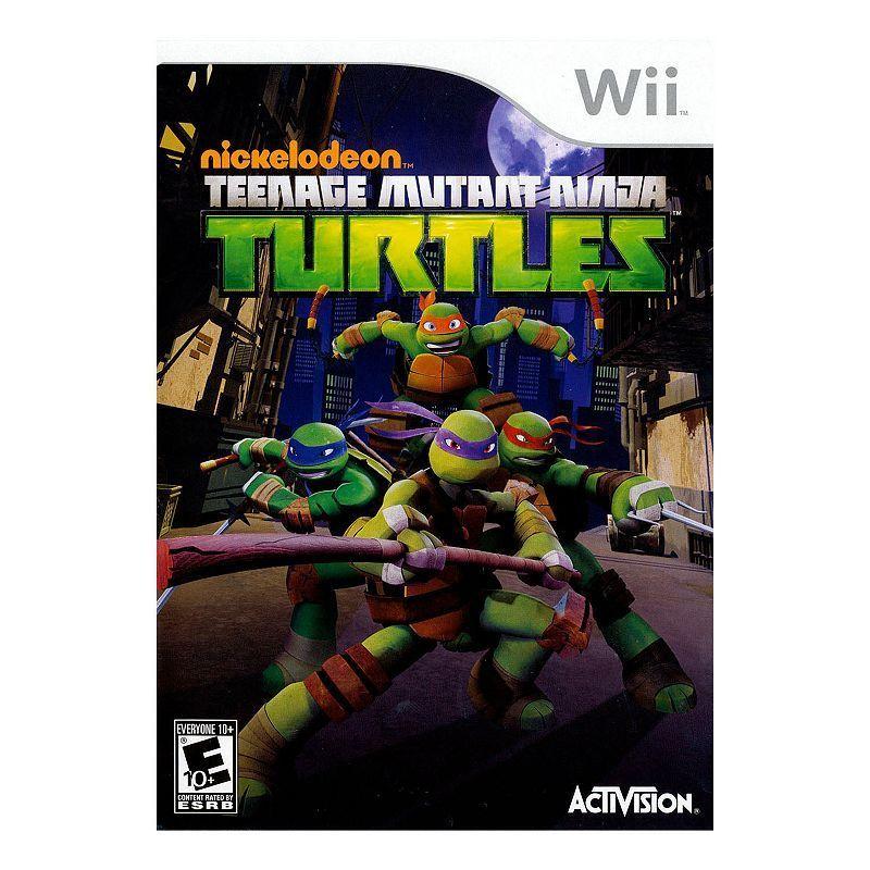 Teenage Mutant Ninja Turtles for Nintendo Wii, Multicolor