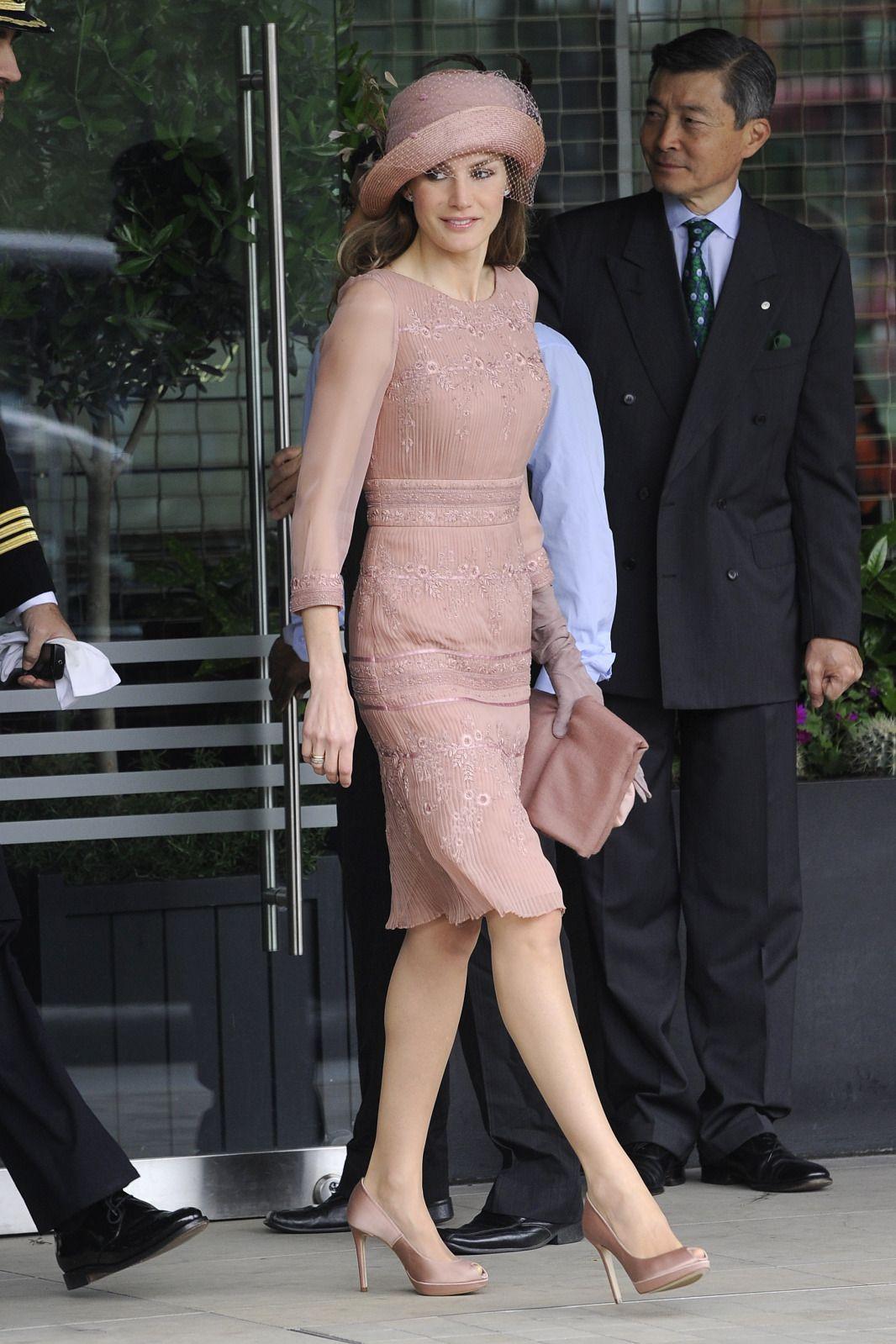 d2dfa4c145 Princesa Letizia de España (Spain). LAS 10 BODAS DE LETIZIA