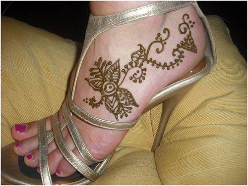 Leg Mehndi Easy : Striking arabic mehndi designs for legs and feet