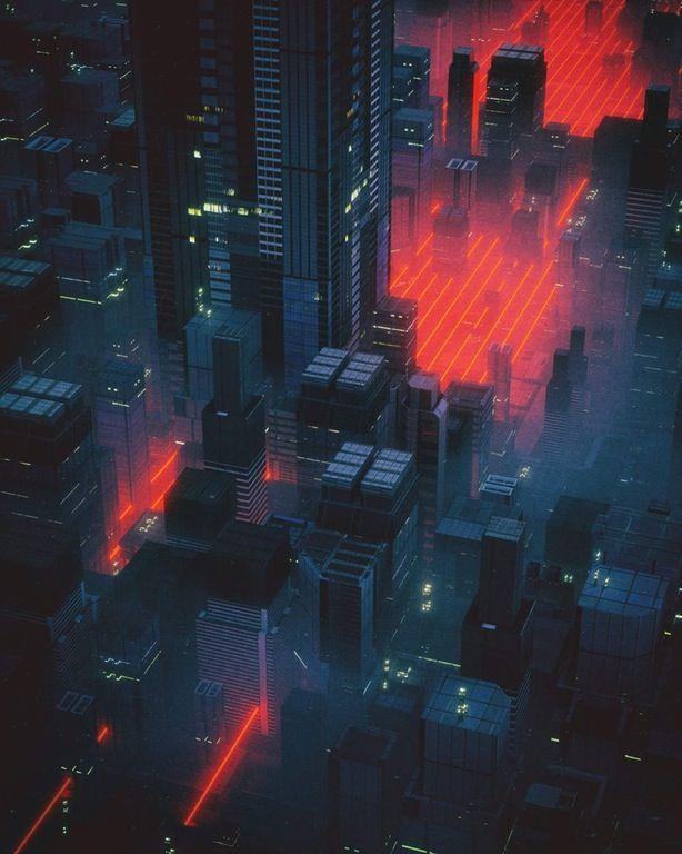 Pin by Tasos C on Colour pallettes | Cyberpunk art, Cyberpunk city