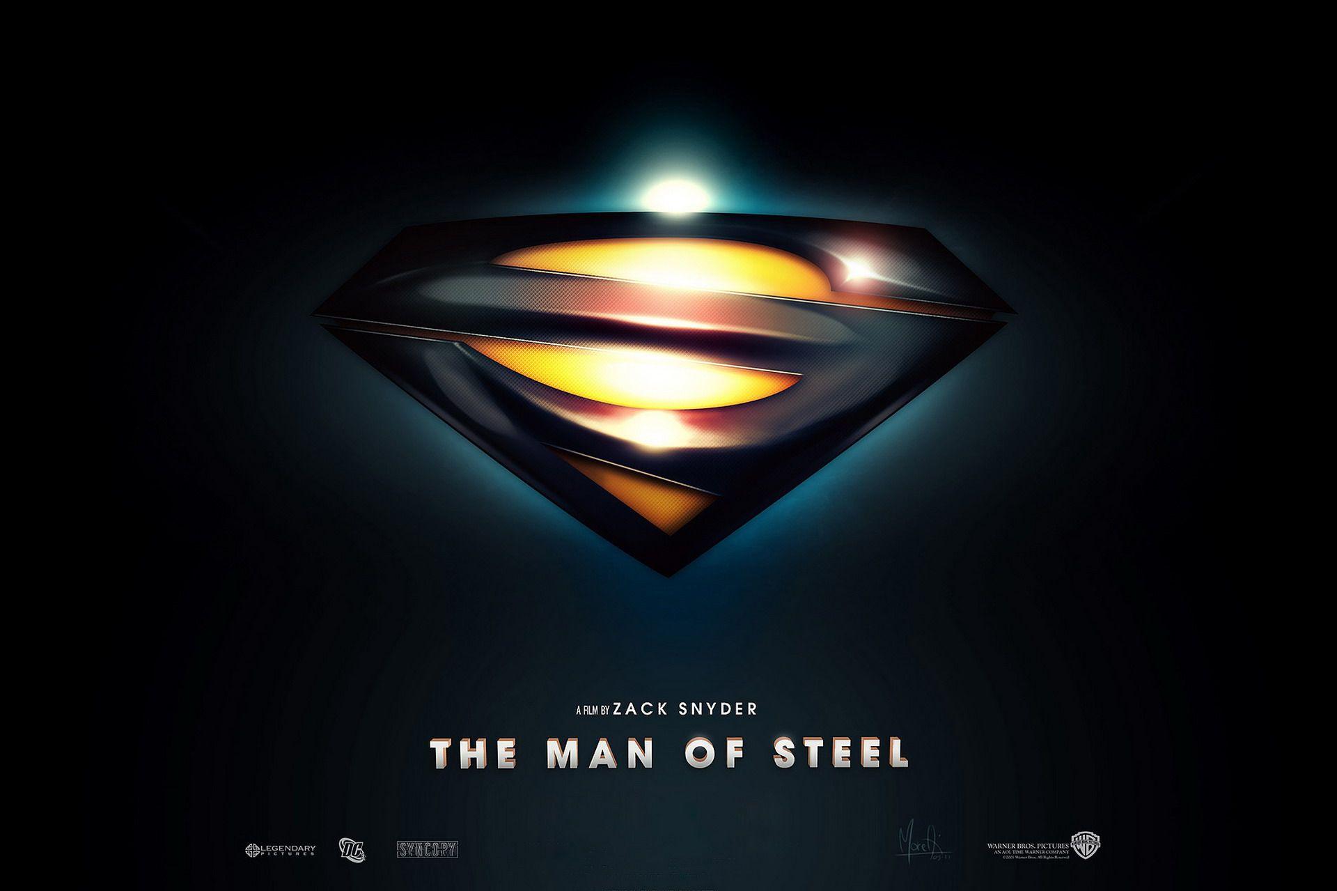 Man Of Steel Logo Wallpaper Wallpapers For Desktop Wallpaper