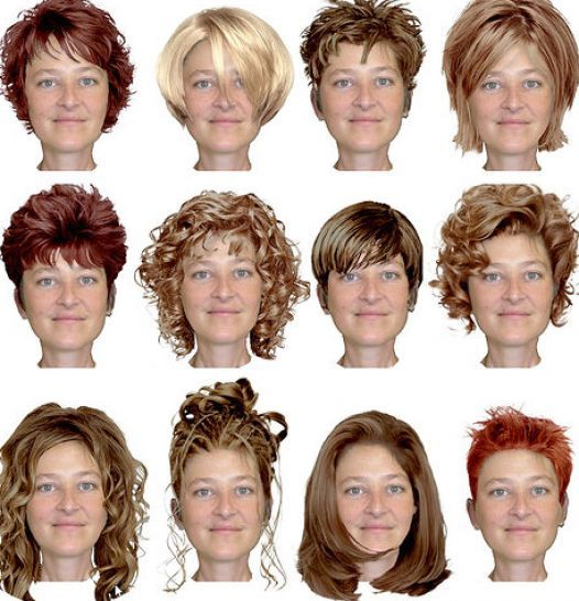 hairstyles for fat women | pictures-of-short-hairstyles-for-fat ...