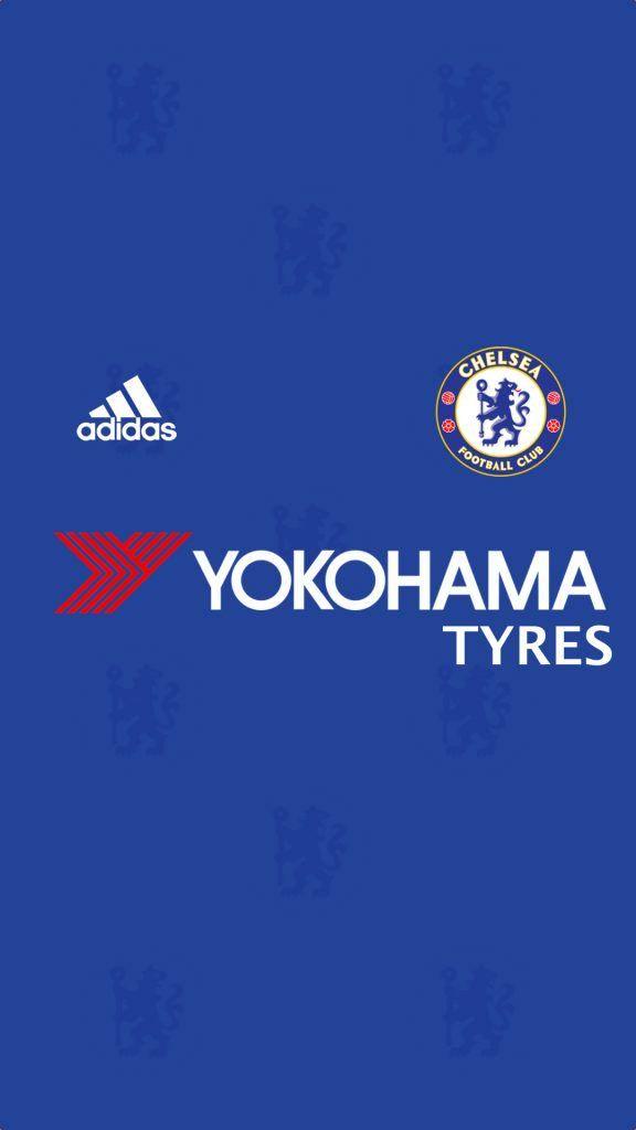 Chelsea Adidas Yokohama Tyres Bola Kaki Sepak Bola Olahraga