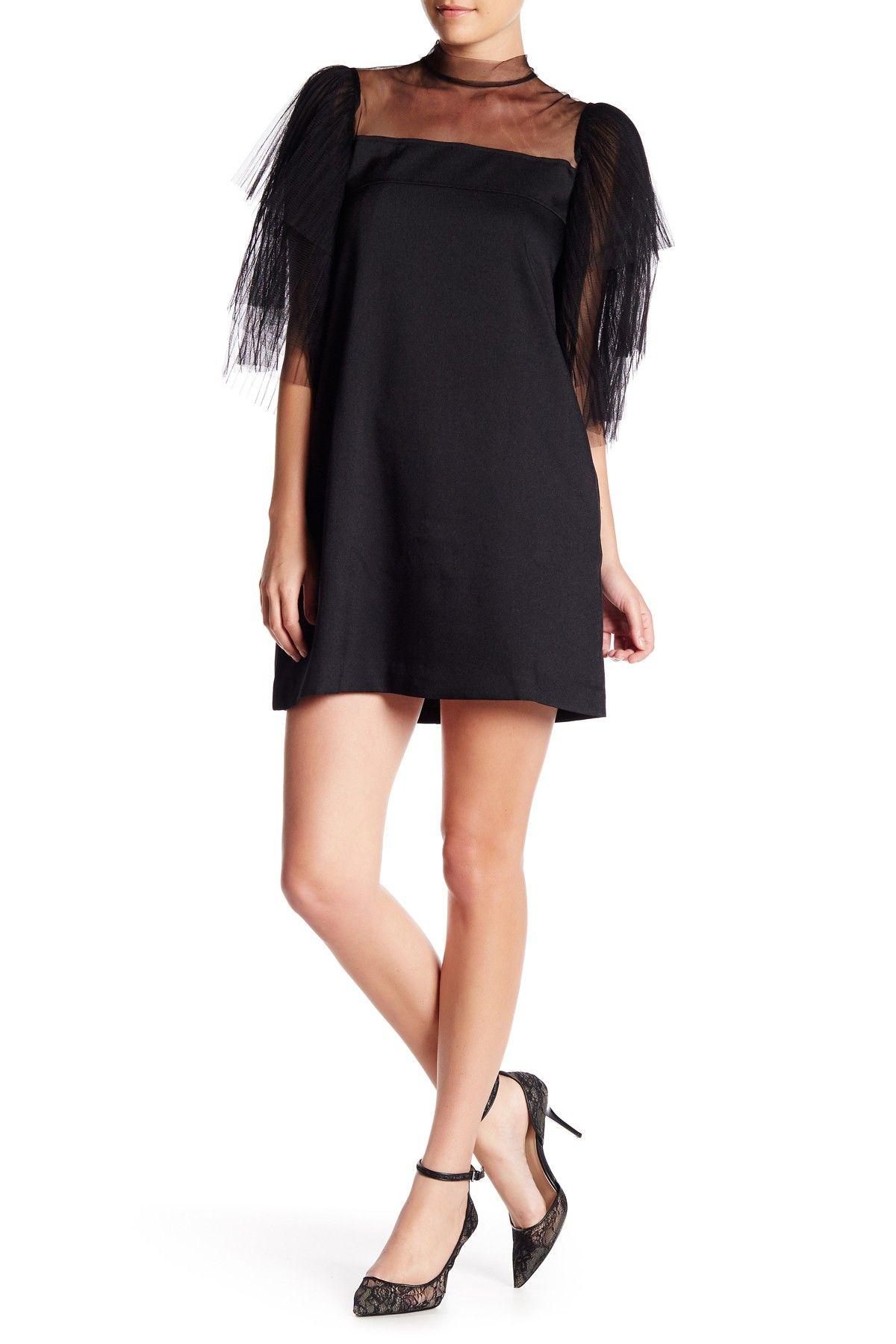 Gracia Tiered Mesh Sleeve Dress Dresses Mesh Sleeved Dress Mesh Sleeves [ 1800 x 1200 Pixel ]