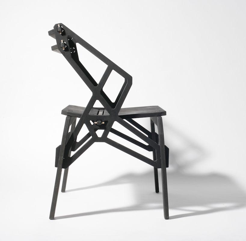 konstantin ackhov: frame chairs (cnc, puzzle joints, no glue/screws)