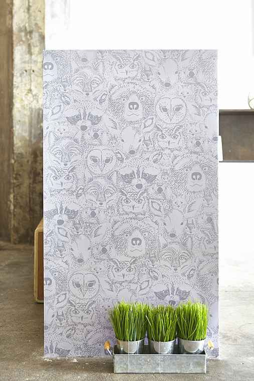 Chasing Paper Wild Removable Wallpaper - Urban Outfitters