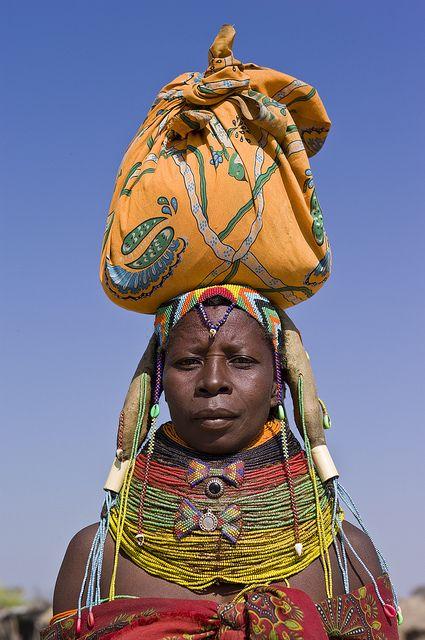 Muhuila on the market in Mucuma, Angola | Indigenous ...