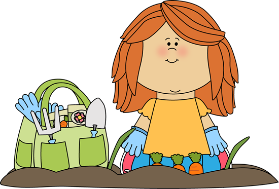 Image result for garden clipart kids
