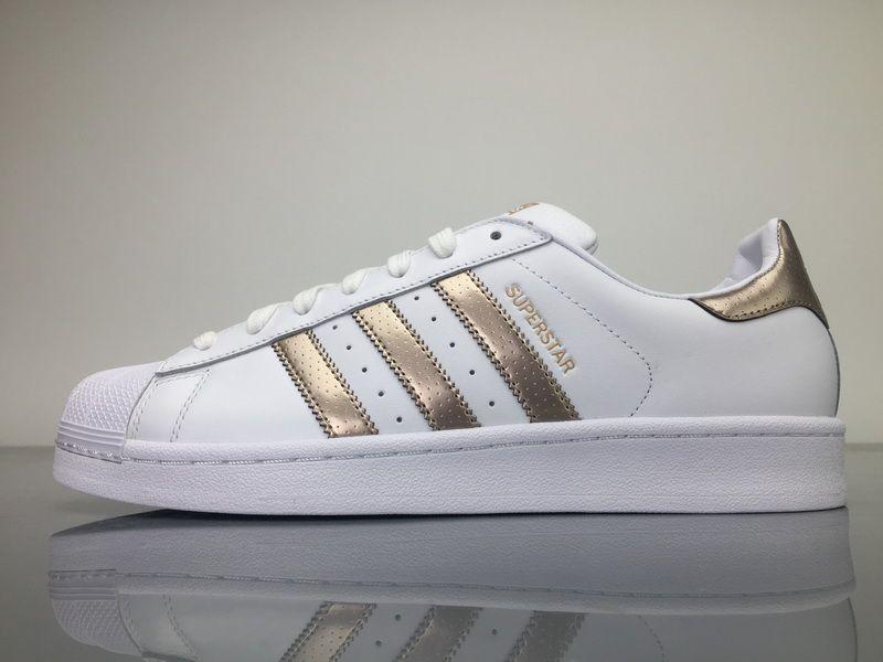 Adidas Superstar White Gold BB1428