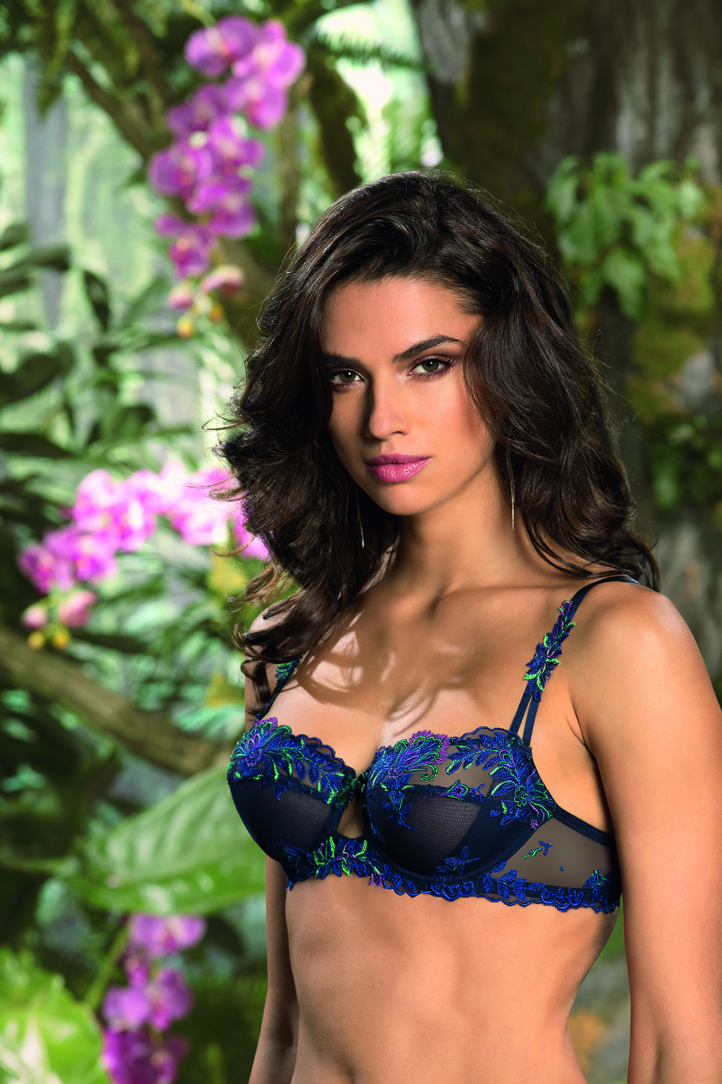 74f51e0abf Lise Charmel Foret Lumiere demi | Sexy lace bras | Lingerie, French ...