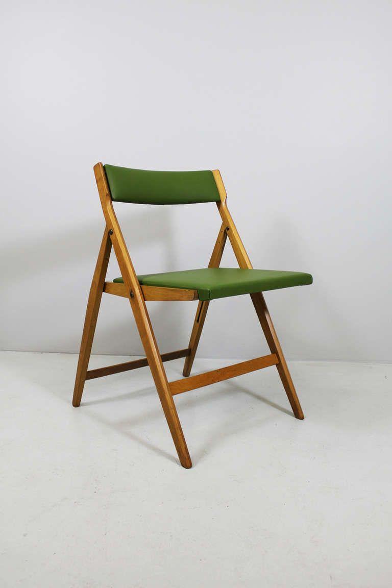 4 folding chairs by gio ponti cassina regiutti brescia for Sharon goldreich