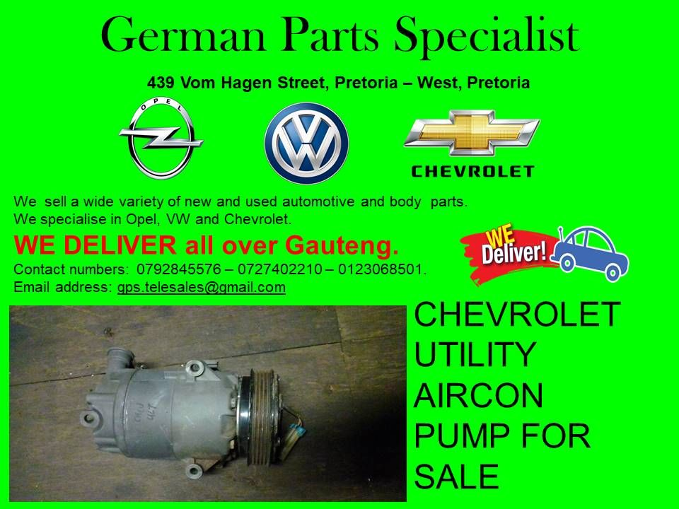 At German Parts Specialists We Specialise In Volkswagen Opel And Chevrolet With Us You Can Get Any Parts That You Are Opel Chevrolet Used Car Parts