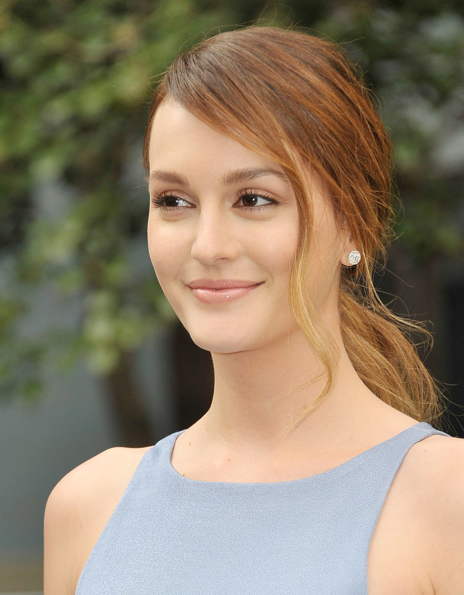 At the Life Partners screening at the Tribeca Film Festival, Leighton Meester was the picture of sunny springtime beauty.