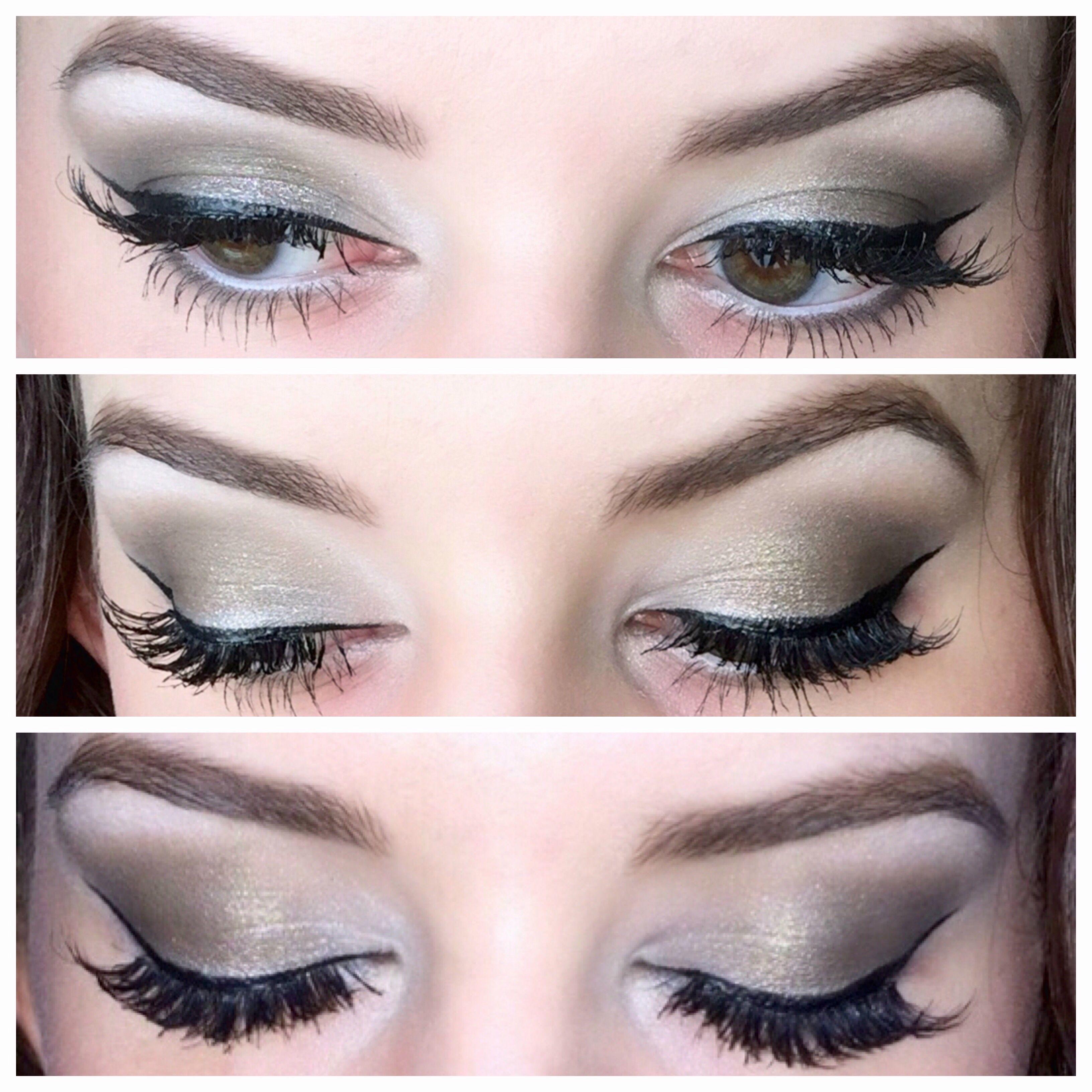 Makeup look by Kelley ) Grey smokey eye, Makeup