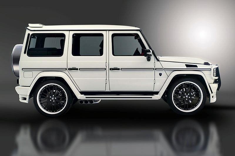 Hamann typhoon based on mercedes g55 amg mercedes g55 for Mercedes benz g wagon amg