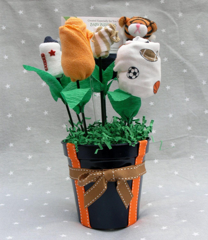 Mini Sports Baby Bouquet 6 pieces. $30.00, via Etsy.