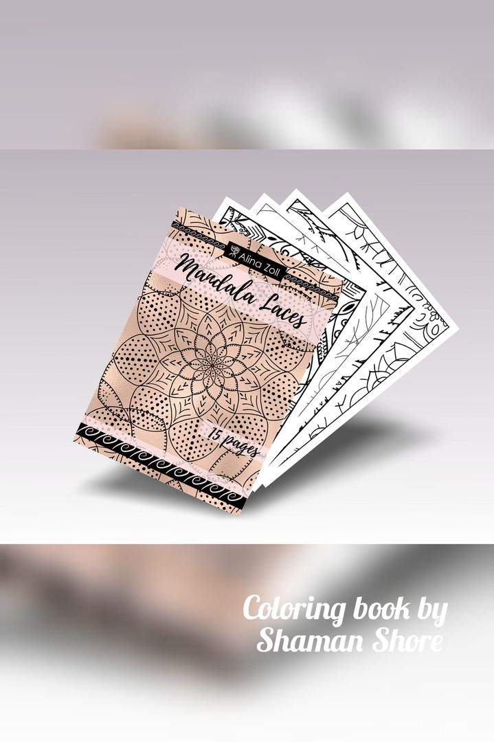 Mandala Laces Coloring Book Pages For Adults Printable Pdf Digital Download Mandalas Advanced