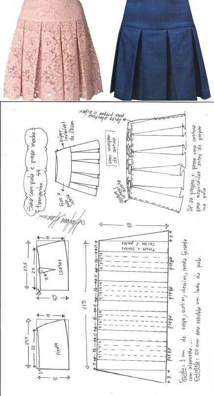 Кройка и шитьё | Costura, Patrones y Patrones de costura